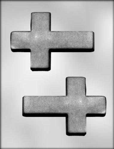"CK Products 5-1/4"" Cross Choc Mold"