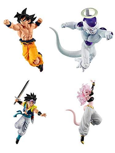 Gashapon Dragon Ball Super Vs Dragon Ball 10 Set (Dragon Ball Gashapon)
