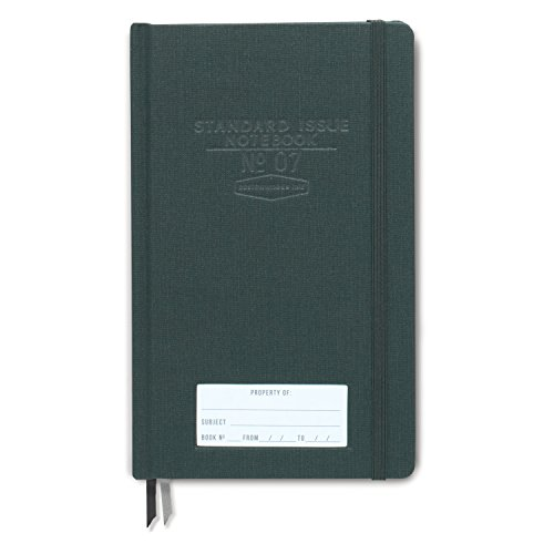 DesignWorks Ink Deluxe Standard Issue Writing Composition Notebook, Green