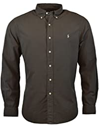 Polo Ralph Lauren Men's Stretch Oxford Slim Fit Sport Shirt