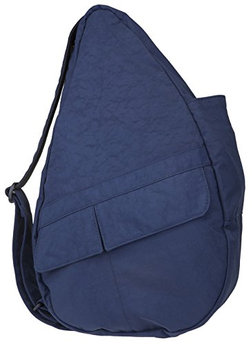 AmeriBag Small Distressed Nylon Healthy Back Bag (Navy (Ameribag Healthy Back Bag)