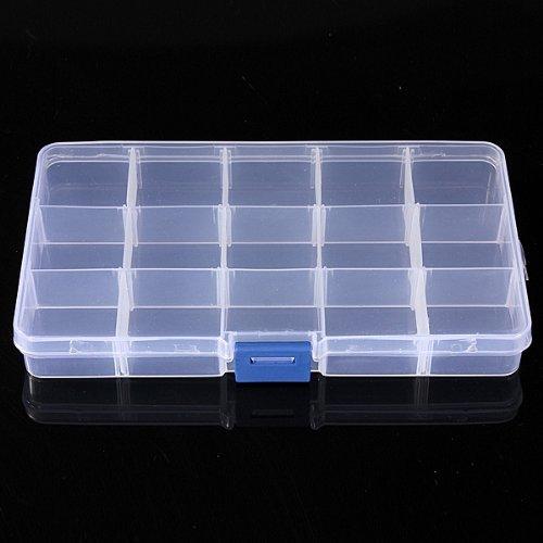 Cheri-recipiente desmontable con 15 compartimentos-Estuche ...