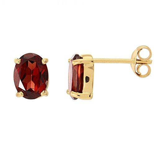 D Ohrringe Gold 375Granat Ref 41381 Trabbia Vuillermoz 30605