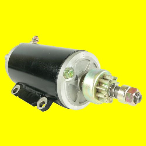 Outboard Electric Johnson (Db Electrical Sab0062 Johnson Omc Marine Outboard Starter For 80 85 90 100 112 115 120 125 130 135 140, 385529, 386465, 389380, 389954, 391554, 585051,585057, 585196, 586282, 586283)