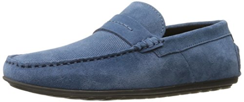 Hugo De Hugo Boss Hombre Viajando Dandy Mocasín Mocasín Slip-on Loafer Medium Blue
