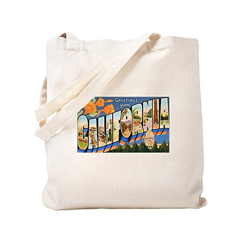 Small California Lona Cafepress Greetings Bolsa Caqui f6qS4Zn
