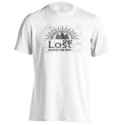 Neue Reise Machen Uns Glückliche Kunst Herren T-Shirt l958m