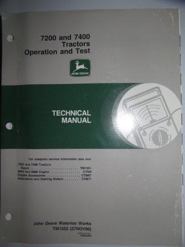 John Deere Operation Manual - 1