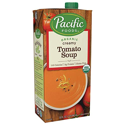 Pacific Foods Organic Creamy Tomato Soup, -
