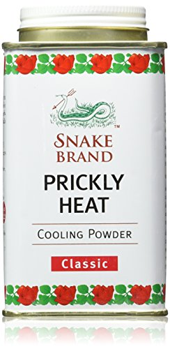 Snake Brand Prickly Heat Cooling Powder