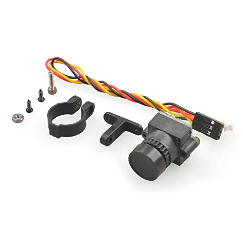 QWinOut High Definition 1000TVL Mini FPV Camera Lens 2.8mm 3MP PAL/NTSC Switchable w/ Angle Adjustable Holder for DIY RC Racing Drone 250 210