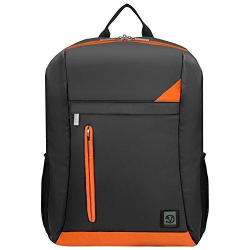 Travel Outdoor Computer Backpack Laptop bag (Orange) - 6