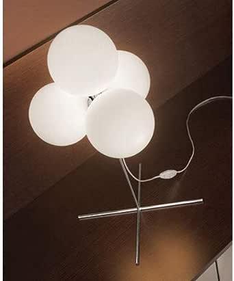 Tulipa de cristal con rosca de MODISS, para lámpara de pie Tybo 60: Amazon.es: Iluminación