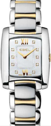 Ebel Brasilia Ladies Two Tone Diamond Watch 1976M22/98500