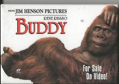 Buddy Rene Russo 1997 Promotional Pin Button
