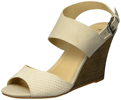 - CL by Chinese Laundry Women's Brinn Wedge Sandal, Beige/Bone, 7.5 M US