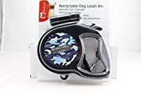 The JazMo Retractable Dog Leash with LED light 8m 26ft safety