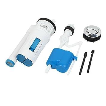 Huis Badkamer Toilet tank vullen ventiel Drain Set 3 in 1 Blauw Wit ...