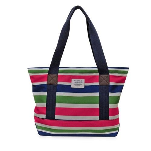 sloane-ranger-tote-sloanie-stripe-girlfriends-traveling-handbags-gift-srta139-sr