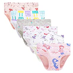 Cadidi Dinos Little Girls Soft Underwear...