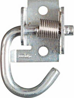 Hook Spring Rope (National Mfg/Spectrum Brands Hhi N237-040 Spring Rope Hook, Zinc - Quantity 5)
