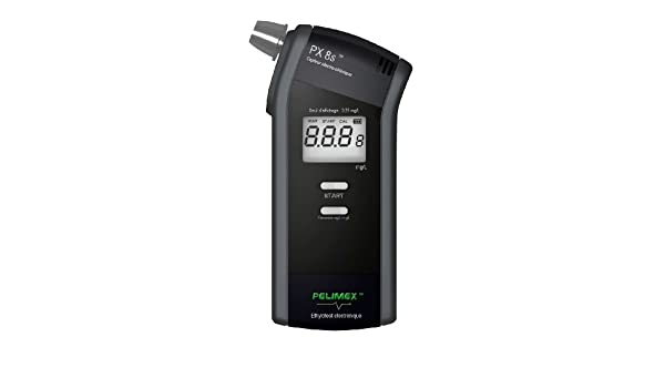 Amazon.com: VISIOMED ETHYLOFLASH PX 8s Ethylotest électronique (1 éthylotest + 6 embouts): Health & Personal Care