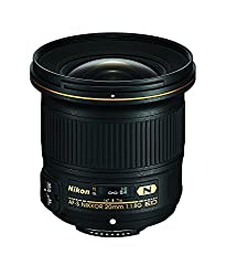 Nikon Af-s Fx Nikkor 20mm F1.8g Ed Fixed Lens With Auto Focus For Nikon Dslr Cameras