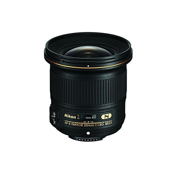 RetinaPix Nikon AF-S Nikkor 20mm f/1.8G ED Lens (Black)