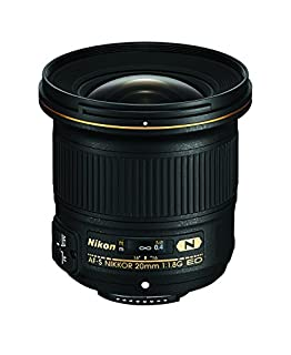 Nikon AF-S FX NIKKOR 20mm f/1.8G ED Fixed Lens with Auto Focus for Nikon DSLR Cameras (B00NI6WH1S) | Amazon Products