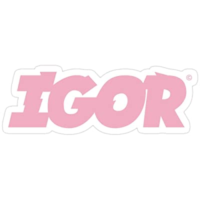 B. Strange Mall Copy of Tyler The Creator Igor Album Pink Logo Merch Stickers (3 Pcs/Pack): Kitchen & Dining [5Bkhe0303120]