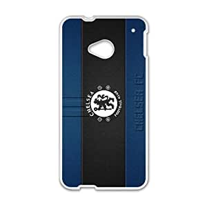 Chelsea team logo series For HTC One M7 Csaes phone Case THQ140281