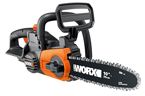 Worx WG322 10-in Cordless chainsaw