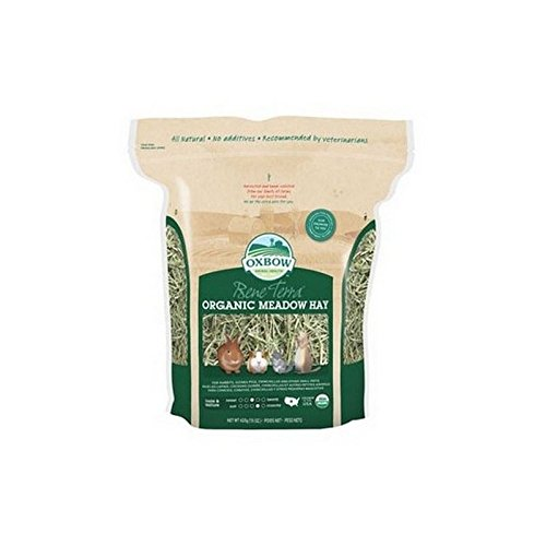 Oxbow Organic Meadow Hay (425g) (Pack of 2)