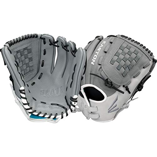 EASTON SLATE Fastpitch Softball Glove   2020   Right-Hand Throw   Female Athlete Design   12.5