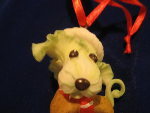 Home Grown Cabbge Dog Ornament