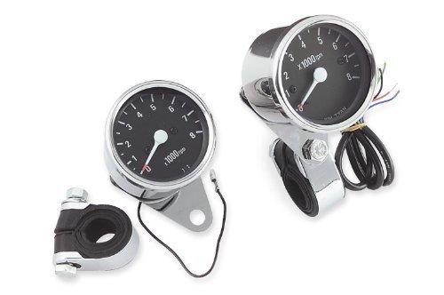 - Bikers Choice Custom Mini Tachometer - Electronic 72769 by Biker's Choice