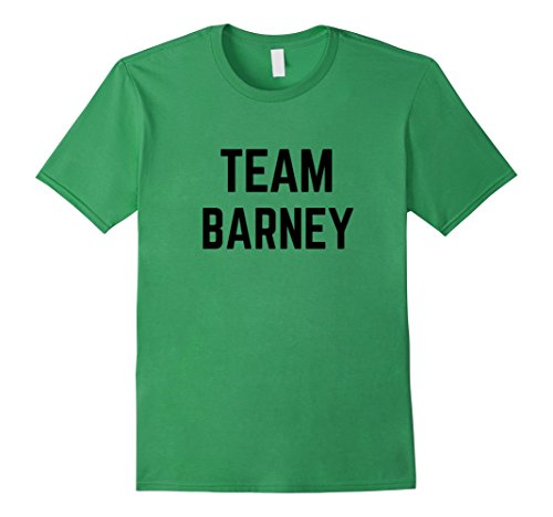 Men's TEAM Barney | Friend, Family Fan Club Support T-shirt 3XL Grass - Barney And Friends Clothes