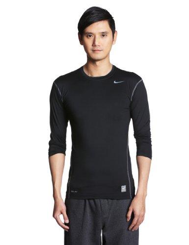 Grey cool Hombre Nike Core Camiseta Pro black Negro Gris Para qw8PzxwO