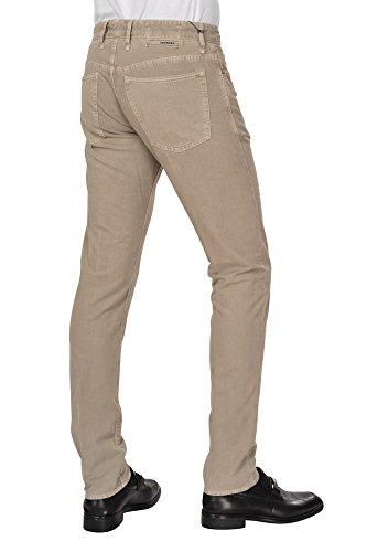 Incotex Pantaloni Uomo 32 Beige scuro / Altri pantaloni casuali Fox Skin Stretto Largo -