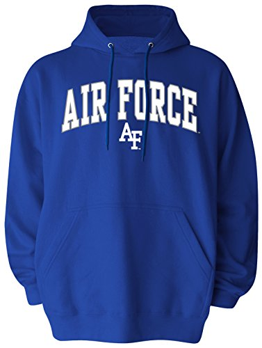 Air Force Hoodie Sweatshirt (NCAA Air Force Falcons Pullover Hood, Medium, Royal Blue)