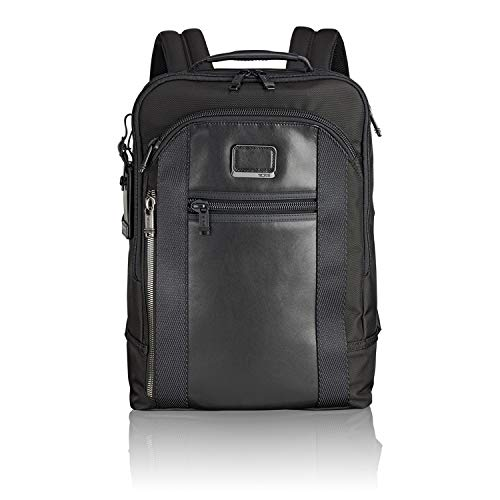 TUMI - Alpha Bravo Davis Laptop Backpack - 15 Inch Computer Bag for Men and Women - Black (Designer Outlet London)