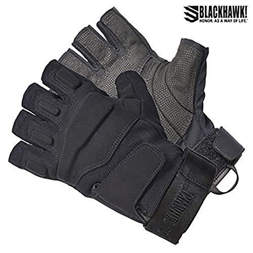 - BLACKHAWK! Men's Black S.O.L.A.G. Special Ops 1/2 Finger Light Assault Glove (Black, Medium)