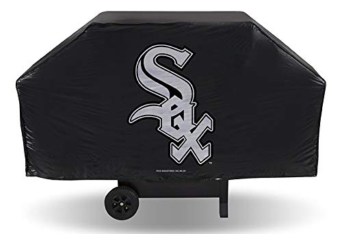 Rico Industries MLB Chicago White Sox Grill CoverEconomy Grill Cover, Team Colors, One Size