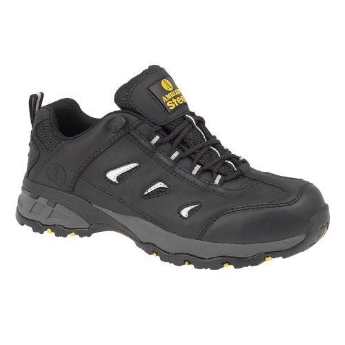 Chaussures de sécurité Amblers Steel FS189 pour homme (44 EUR) (Noir)