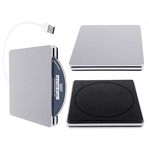 JahyShow US Ultra Slim USB External Slot DVD R CD RW Drive Burner Superdrive for Apple Macbook Pro Air Imac/Windows, XP, Vista - Buffalo Drivestation Combo