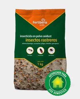 Fertiberia INSECTICIDA Polvo Insectos Rastreros, 1 KG