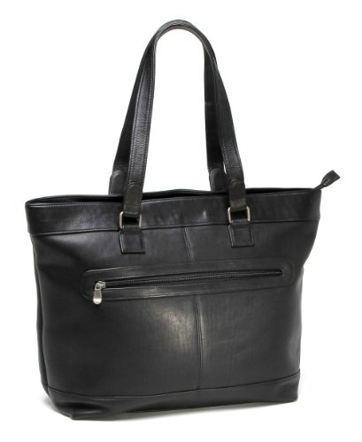 le-donne-leather-16-laptop-business-tote-black