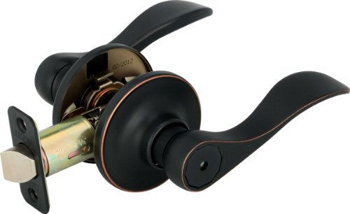 Legend 809122 Legend Decorative Lever Privacy Adj Bs Bronze