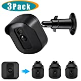 Blink XT Camera Wall Mount Bracket,Full Protective Housing and Metal Mount for Blink XT Cameras Weather Proof Adjustable Indoor Outdoor Mount and Cover for Blink Home Security (Black (3 Pack))