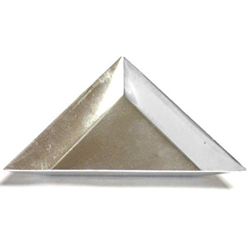 (Triangle Tray Bead Scoop Sort Beading Tools Aluminum)